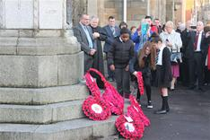 Govan Remembrance Sunday service