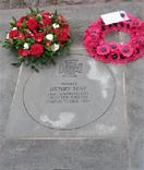 Henry May VC paving stone